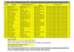 MTA - Elektrik İşleri Etüt İdaresi Genel Müdürlüğü