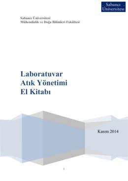 Laboratuvar Atık Yönetimi El Kitabı