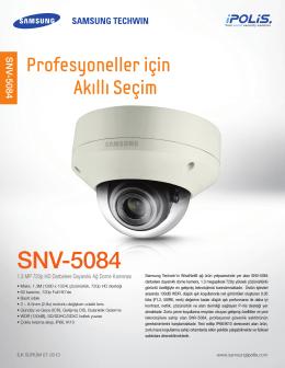 SNV-5084 - Mavi Güvenlik