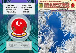 din Constanţa - Revista Hakses a UDTR