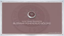 YILDIZ TEKNİK ÜNİVERSİTESİ www.ce.yildiz.edu.tr
