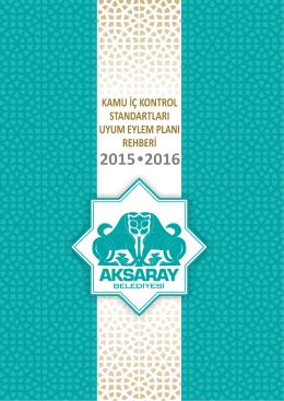 Eylem Planı - Aksaray Belediyesi