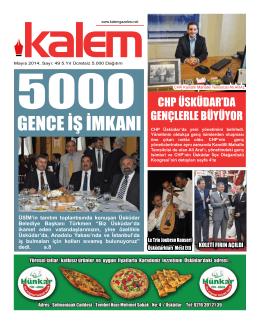 Kalem Gazetesi 49. Sayı