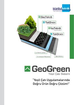 """""""Yeşil Çatı Uygulamalarında Doğru Ürün Doğru"""