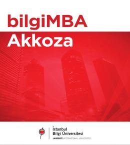 Broşür - İstanbul Bilgi Üniversitesi