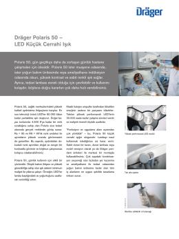 Dräger Polaris 50 – LED Küçük Cerrahi Işık