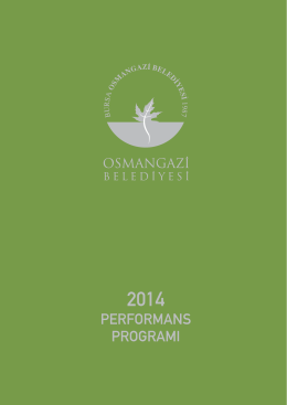 2014Performans Programı