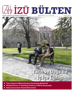 Tarih ve Doğa ile İç İçe Eğitim - İstanbul Sabahattin Zaim Üniversitesi