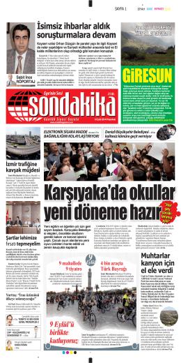 Oğuzhan Özyakup - Sondakika Gazetesi