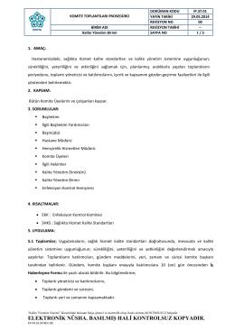 KOMITE TOPLANTI LARI PROSEDÜRÜ. pdf