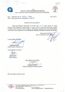 Gündemin 155.Maddesi - Antalya Belediyesi