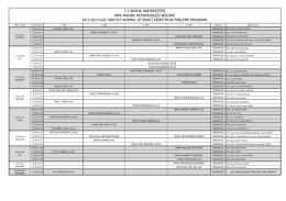 tc bozok üniversitesi mmf makine mühendisliği bölümü 2013