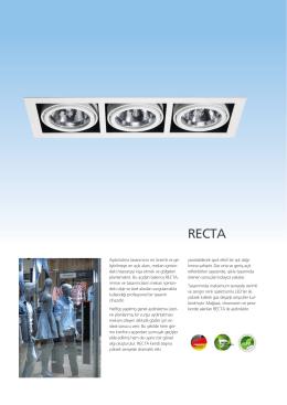 recta - EAE Aydınlatma