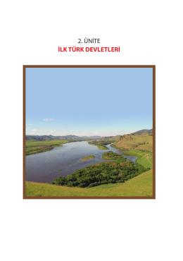 İlk Türk Devletleri - Hayat Boyu Öğrenme Genel Müdürlüğü