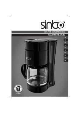 scm 2935 kahve mak‹nası kullanma kılavuzu