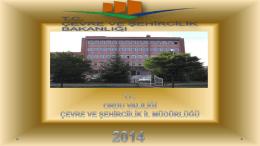 tl - Çevre ve Şehircilik Bakanlığı