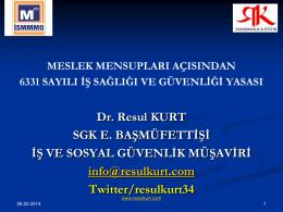 Dr. Resul Kurt
