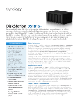 DiskStation DS1815+