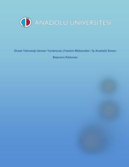 Anadolu Üniversitesi Sınav Hizmetleri