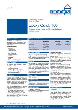 Epoxy Quick 100
