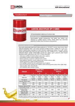 LUKOIL MULTIFLEX EP C GRES Endüstriyel Gres