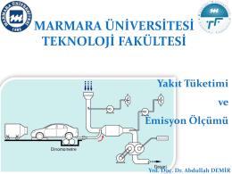 yakıt tuketımı – egzoz emısyonları ve testlerı_2014