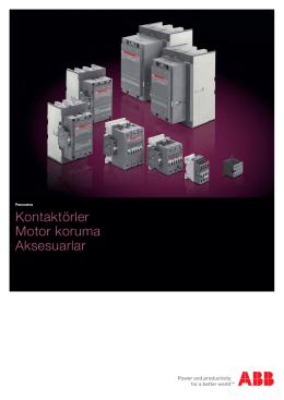 Kontaktörler Motor Koruma