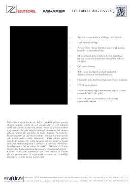 Zeutschel OS 14000 A0 - A0 LS - A0 HQ