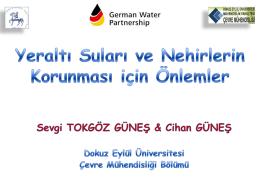 Yeraltı Suları ve Nehirlerin Korunması için Önlemler