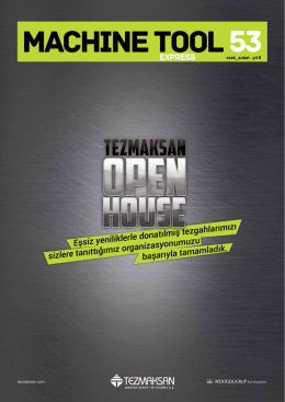 Tezmaksan Open HOuse
