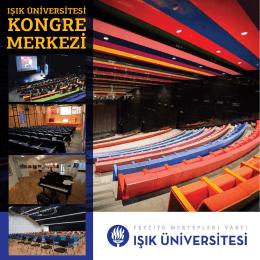 Kongre Merkezi - Işık Üniversitesi