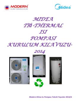Midea Tri Thermal Isı Pompası Kurulum Kılavuzu