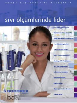 precision liquid handling sıvı ölçümlerinde lider