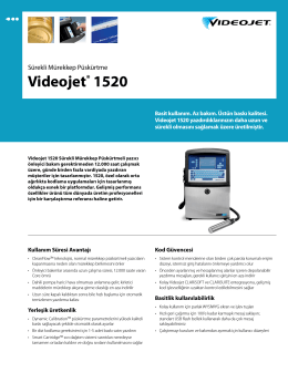 Videojet® 1520