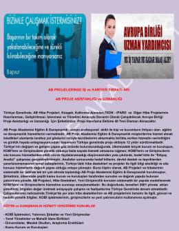 İŞ BAŞVURUNUZ - AB ve KOSGEB PROJE ASİSTANLIĞI.docx