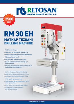 RM 30 EH - Retosan