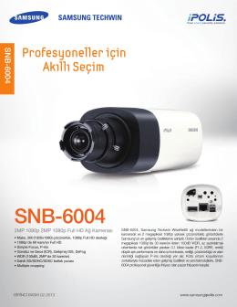SNB-6004 DATASHEET