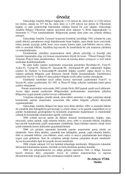 2005-2006 faalıyet raporu