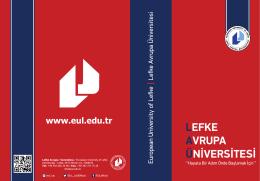 www.eul.edu.tr - Lefke Avrupa Üniversitesi