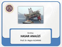 Kırılma - Prof.Dr Akgün Alsaran