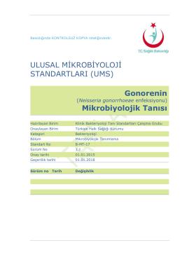 Gonore - Türkiye Halk Sağlığı Kurumu