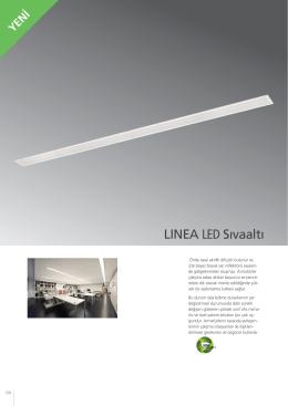 LINEA LED Sıvaaltı