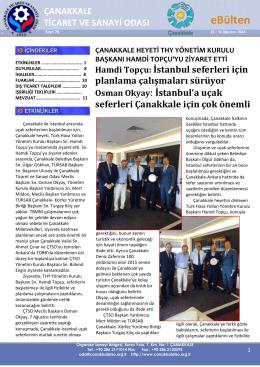 76.Ağustos2014-2 - Çanakkale Ticaret ve Sanayi Odası