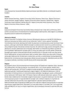 P01 Dr. Onur Özalp - Febril Nötropeni Portalı