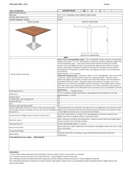 TX110.F 77X77 12 FT Hakkında Detaylı Bilgi Almak İçin