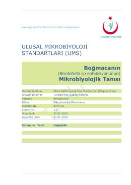 Boğmaca - Türkiye Halk Sağlığı Kurumu