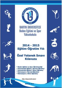8. karate - Bartın Üniversitesi