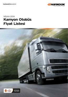 Hankook_Kamyon Nisan_Fiyat_Listesi