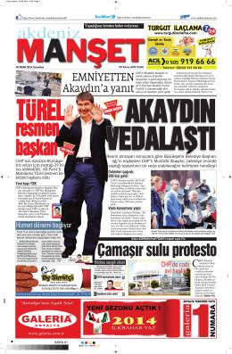 6 - Akdeniz Manşet