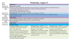 ProgramEN08072014 - international conference on new trends in